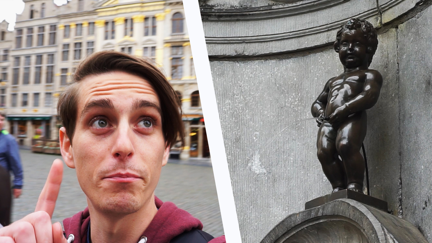 Travel Vlog: The Most Famous Statue in Brussels