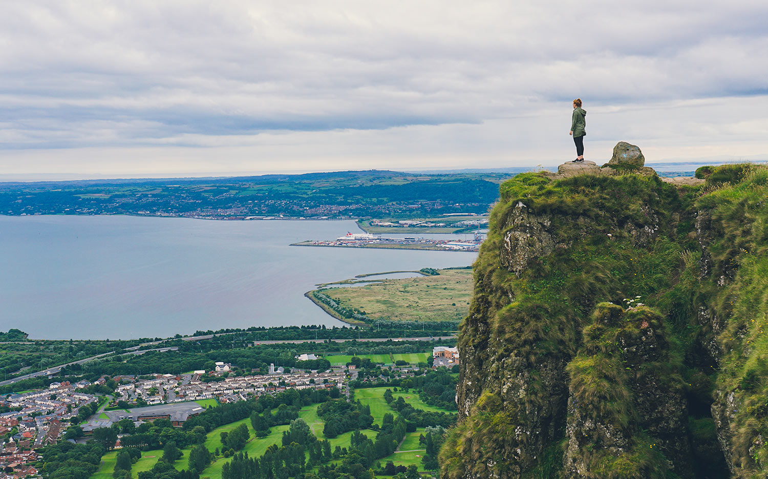 Hiking the Cave Hill Trail in Belfast, Northern Ireland